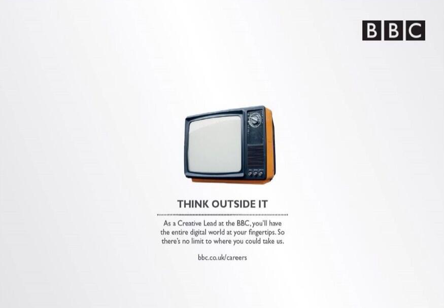 Think Outside The Box Ad